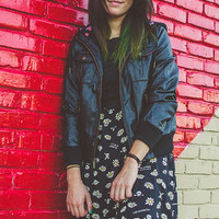 Glamour Kills - FLORAL TAY BOMBER