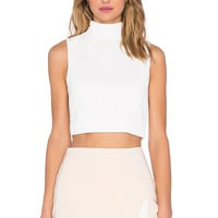 C/MEO Stay Close Top in Ivory