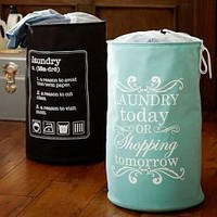Drawstring Bags, Monogrammed Laundry Bags & Cute Laundry Bags | PBteen