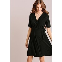 Val Knotted Mini Dress