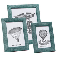 Oxford Turquoise Photo Frame