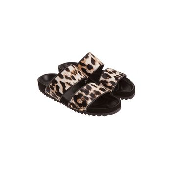 Sandro Andy Leather Sandal at Sandro US