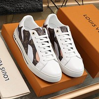 lv louis vuitton womans mens 2020 new fashion casual shoes sneaker sport running shoes 361