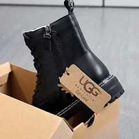 UGG Hot Sale New Martin Boots Thick-soled Leg Length Increase Shoes Fashion Ladies Winter Boots