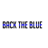 Back The Blue Police Lives Matter Decal - Yeti Decal - Car Decal - Support - Police Wife - Police Family - Back The Blue - Sticker