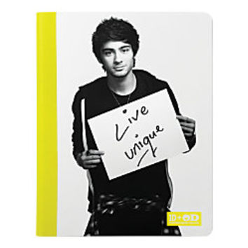 One Direction Limited Edition 1D OD Together Composition Book Zayn Unique Neon Yellow by Office Depot