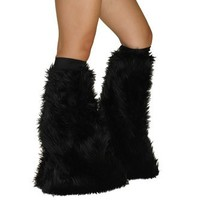 Black Soft Fur Fluffies