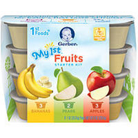 Gerber 1st Foods Fruit Tasting Kit