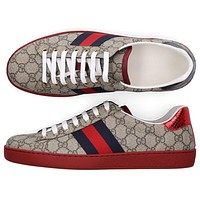 Gucci low top casual sneakers