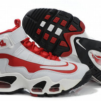 red and white womens griffey max i shoes for sale
