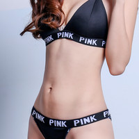 Vitoria's Secret PINK Fashion leisure bikini