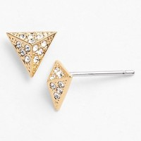 Women's Nadri Pyramid Stud Earrings