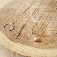 Tiny Charm Necklaces