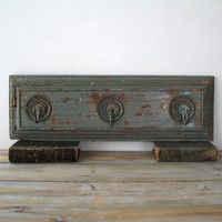 Painted Wood Coat Rack