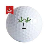 Pot Head Emote Golf Ball> The Pot Head Emote> 420 Gear Stop