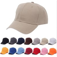 Red Black Blue Pink Gray Dad Hat Hats for Women Men Adjustable Baseball Caps Ladies Girls Simple Casual Solid Snapback Casquette