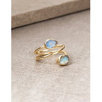 When Stars Align Labradorite Ring - Size 5 Only