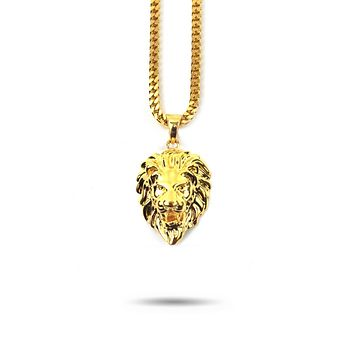 Micro Lion Head Necklace