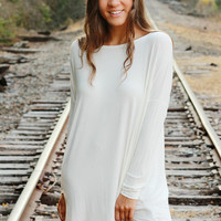 Piko Dress - Off White