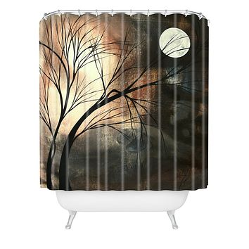 Madart Inc. Lost Moon Shower Curtain