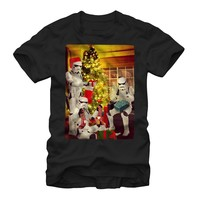 Star Wars Men's - Stormtrooper Christmas T Shirt