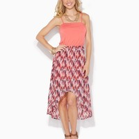 Playful Painterly High-Low Dress | Apparel | charming charlie