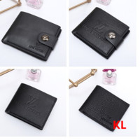 LV  cross section Leather Fashion Wallet [305718853661]