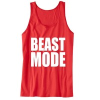 Beast Mode Unisex Tank Top - For Gym Time - Great Motivation