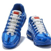 DCCK Nike Air Max 95 Men Fashion Running Sneakers Sport Shoes Blue Size 40-46