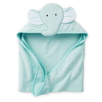 Elephant Hooded Towel For Baby