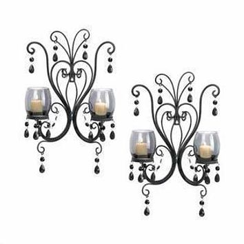 Candle Sconces Midnight Elegance Wall Sconces