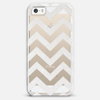 Brandnew transparent cases : ***TIFFANY SILVER CHEVRON TRANSPARENT *** iPhone 5s case by Monika Strigel | Casetagram