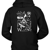 Harry Potter Madness Hoodie Two Sided