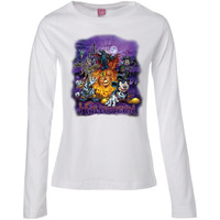 Halloween  Ladies' Long Sleeve Cotton TShirt