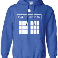 Doctor Who Police public call box Tardis dr. Printed T-Shirt Tee Shirt T Mens Ladies Womens Youth Kids Funny british custom design ML-075H