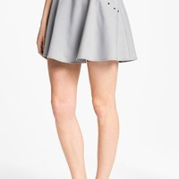 Blu Pepper Studded Skater Skirt (Juniors) | Nordstrom