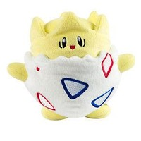 "Tomy Pokemon Togepi 8"" Easter Plush Figure Authentic US Seller USA Gift"