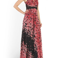 Multi Halter Chiffon Maxi Dress - Formal - T.J.Maxx
