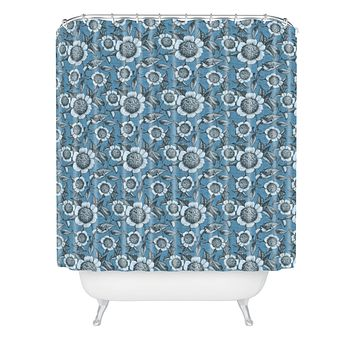 Caroline Okun Camelia Organica Shower Curtain