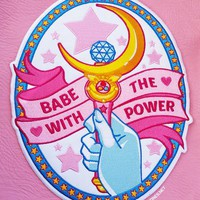 BABE WITH THE POWER ♡ Back Patch ♡
