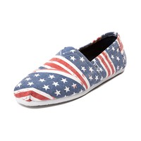 Mens TOMS Classic Stars and Stripes Casual Shoe