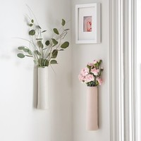 Ceramic Wall Bud Vase
