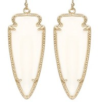 Skylar Earrings in White Pearl - Kendra Scott Jewelry