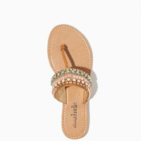 Lilou Beaded Sandals | Shoes | charming charlie