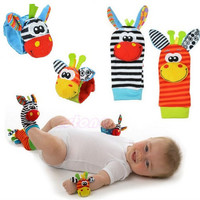 Baby Wrist Rattle and Sock Rattle