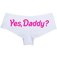 Yes, Daddy? Panty