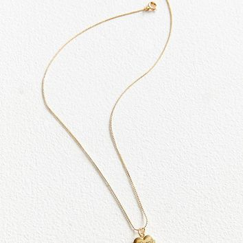 Vintage Heart Locket Necklace | Urban Outfitters