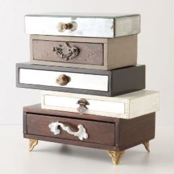 Topsy-Turvy Jewelry Box by Anthropologie Multi One Size Office
