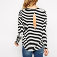 Only Stripe Long Sleeve Top