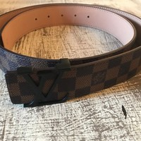 ceinture belt louis vuitton damier 115cm paris LV